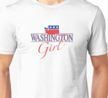 Washington Girl - Red, White & Blue Graphic Unisex T-Shirt