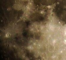Gibbous Moon Sticker  Sticker