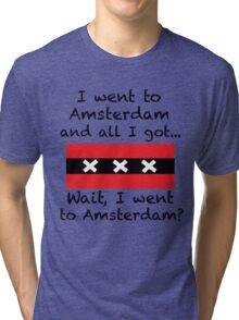 Amsterdam Tourist Tee Tri-blend T-Shirt
