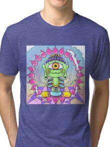 kawaii buddha Tri-blend T-Shirt