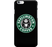 Skellington Coffee iPhone Case/Skin