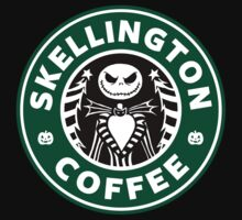 Skellington Coffee T-Shirt