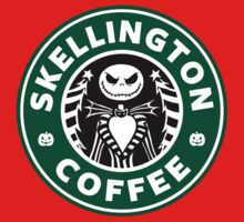 Skellington Coffee One Piece - Long Sleeve