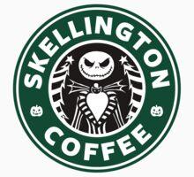 Skellington Coffee Baby Tee