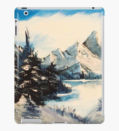 winter mountain  iPad Case/Skin