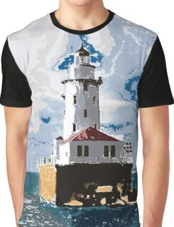 The Chicago Lighthouse Graphic T-Shirt