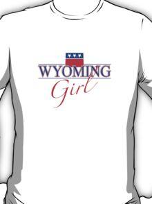 Wyoming Girl - Red, White & Blue Graphic T-Shirt