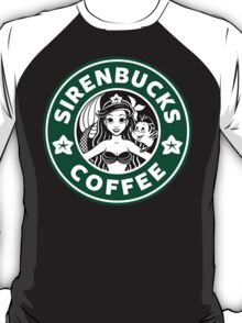 Sirenbucks Coffee T-Shirt