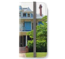 Old West End Blue 10 iPhone Wallet/Case/Skin