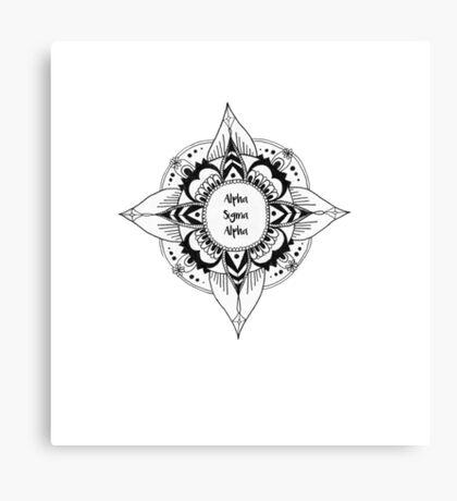 ASA Mandala Canvas Print