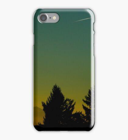 Beautiful Sunset In Austria iPhone Case/Skin