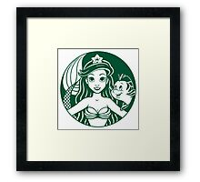 Sirenbucks Framed Print