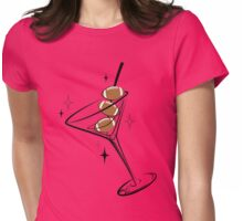 Football-tini Womens Fitted T-Shirt