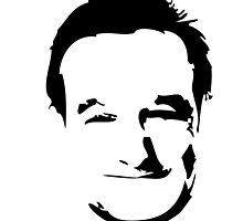 Robin Williams face by Flibidi