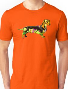 Graffiti Dog Unisex T-Shirt