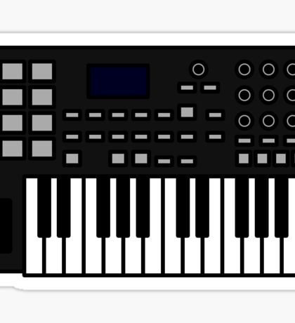Midi Keyboard Sticker
