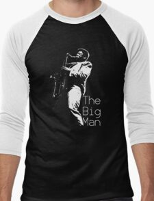 Clarence Clemons On Stage Men's Baseball ¾ T-Shirt