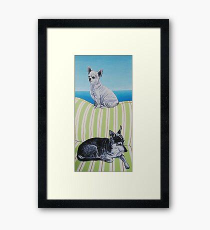 Benson and Lightening Framed Print
