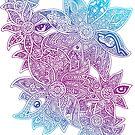 Life Flowers by Octavio Velazquez