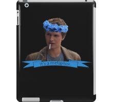Augustus Waters - It's A Metaphor iPad Case/Skin
