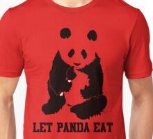 LET PANDA EAT Unisex T-Shirt