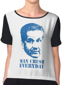 MAN CRUSH EVERYDAY Chiffon Top