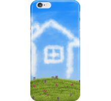 House of clouds iPhone Case/Skin