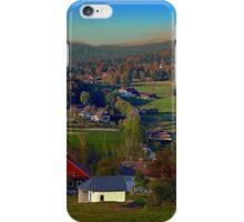 Beautiful autumn scenery | landscape photography iPhone Case/Skin