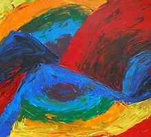 Abstract Landscape by Dorothy Berry-Lound