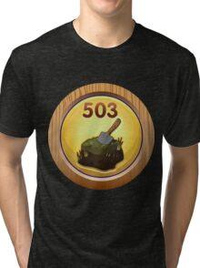 Glitch Achievement obsessive compulsive re peater Tri-blend T-Shirt