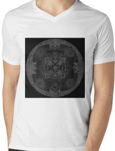 Geo Mantria Mens V-Neck T-Shirt