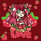 -Strawberry Girl- by PastelSweets