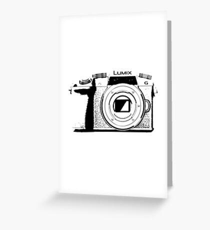 Panasonic GH4/G7 Camera Sketch Greeting Card