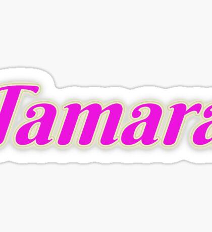 Tamara Sticker