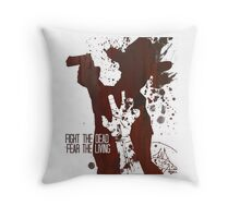 Fight The Dead, Fear The Living - Rick Grimes Throw Pillow