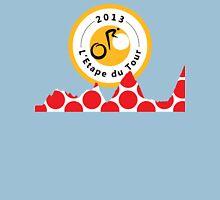 Red Polka Dot 2013 L'Etape du Tour Mountain Profile v2 T-Shirt