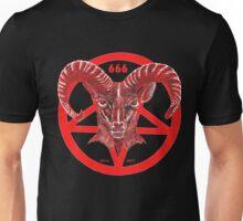 PENTAGRAM RED Unisex T-Shirt