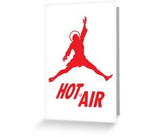 Air Jesus by Tai's Tees Greeting Card