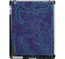 USGS TOPO Map California CA Childs Hill 100179 1997 24000 geo Inverted iPad Case/Skin