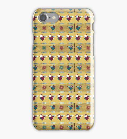 Winter Friends - Cardinals iPhone Case/Skin