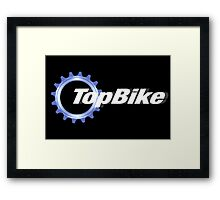 TopBike Framed Print