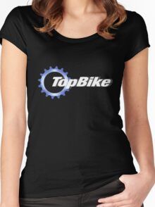 TopBike Women's Fitted Scoop T-Shirt