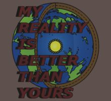 my reality (hollow earth) Kids Clothes
