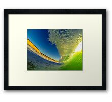 Shorebreak In France Framed Print