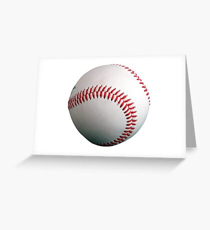 Baseball Sport Greeting Card
