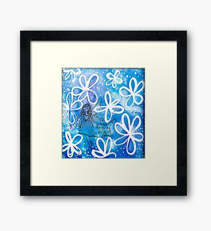 Fairy Bonnie the blue Framed Print