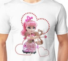 Cupid Red Hearts Unisex T-Shirt
