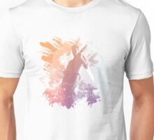 Guitarist On Stage Musical Medley Unisex T-Shirt