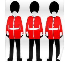 British Queen's Guard Poster