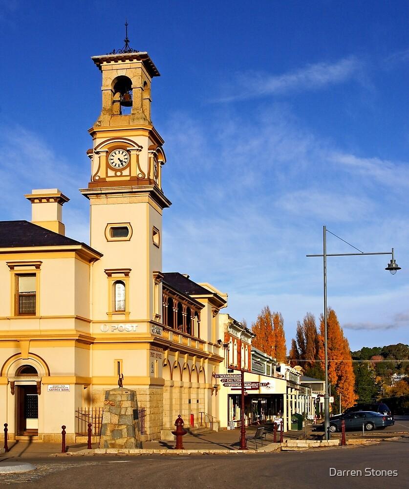Beechworth Post Office by Darren Stones